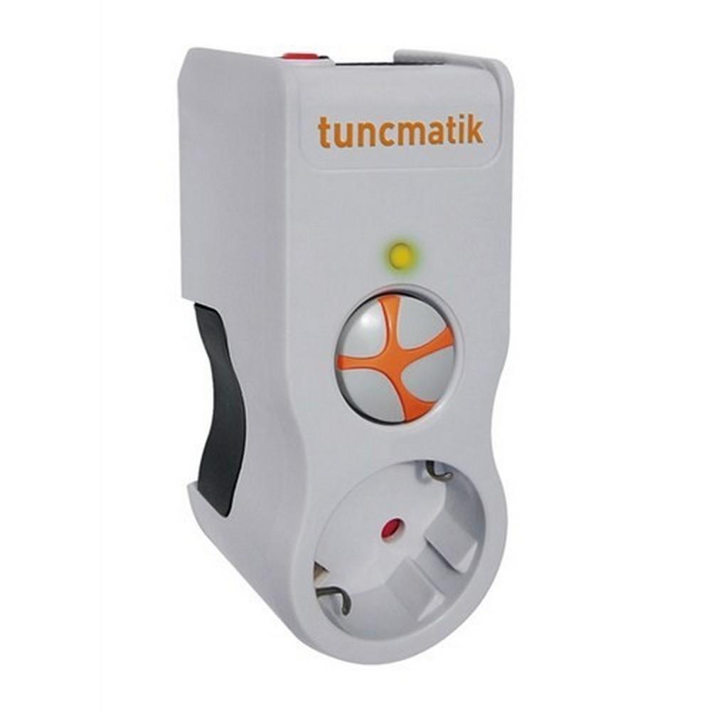 Tuncmatik Powersurge 1 525 Joule Beyaz TSK5078 Akım Korumalı Priz