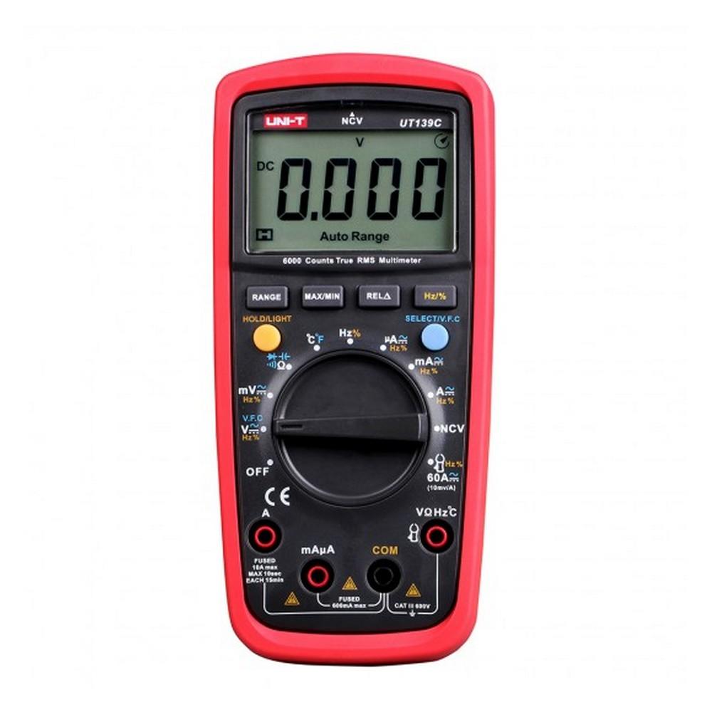 Uni-t UT 139C True RMS Dijital Multimetre AC DC