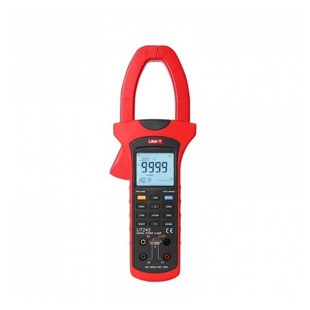 Uni-t UT 243 AC 1000A True RMS Güç-Harmonik Pensampermetre