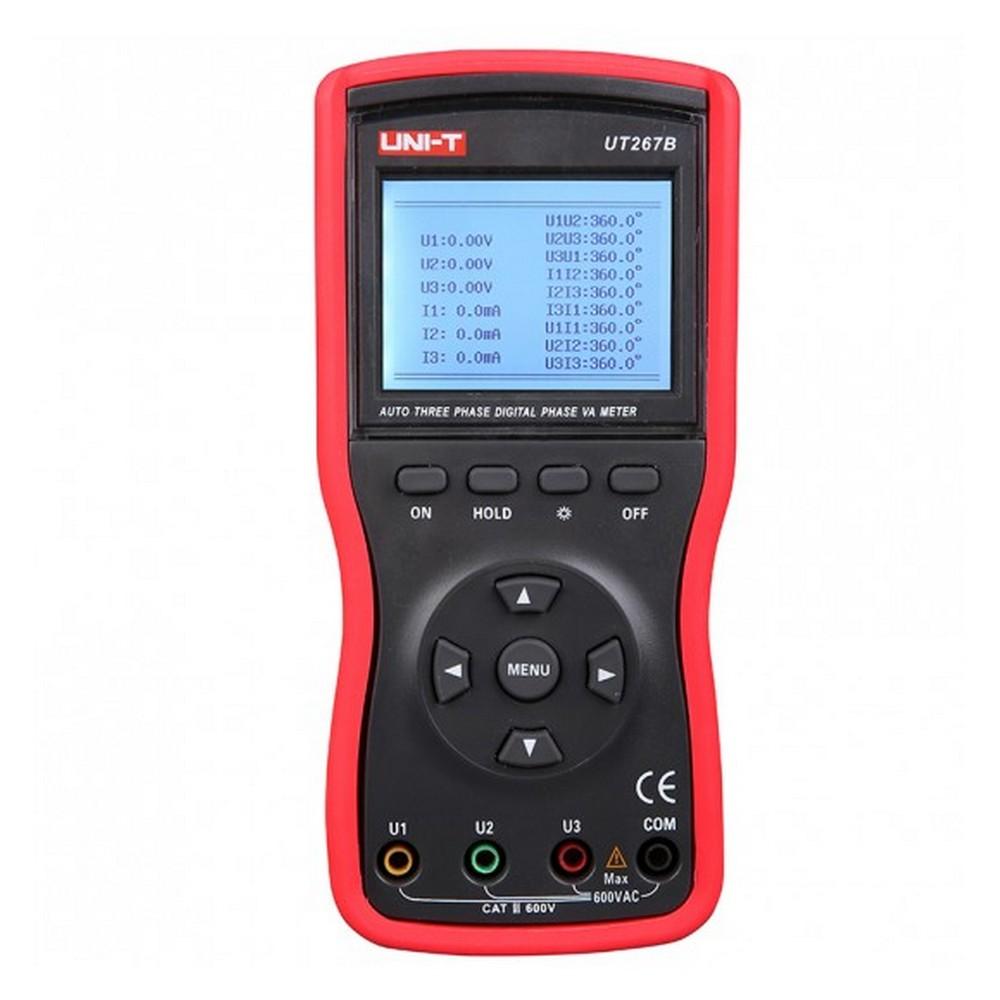 Uni-t UT 267B Dijital Akıllı 2/3 Fazlı Fazmetre