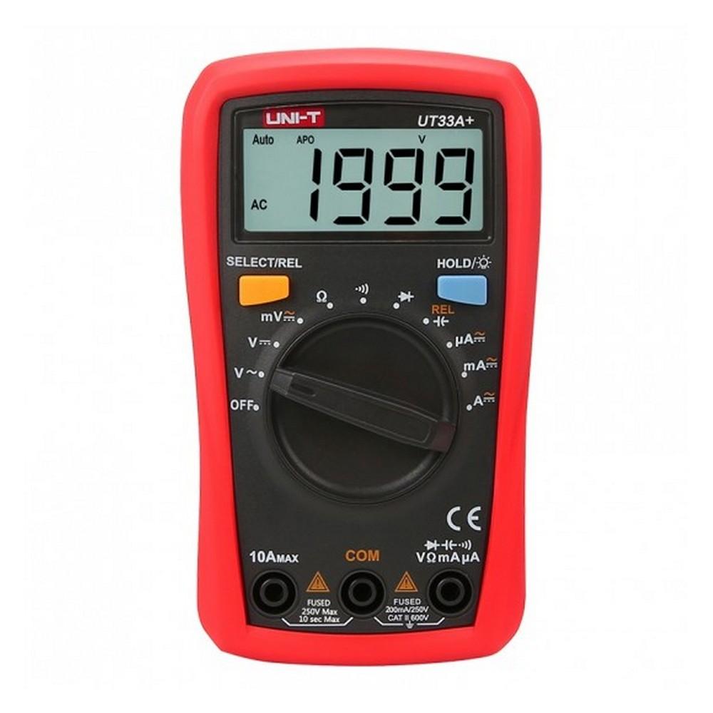 Uni-t UT 33A+ 600V Dijital Multimetre
