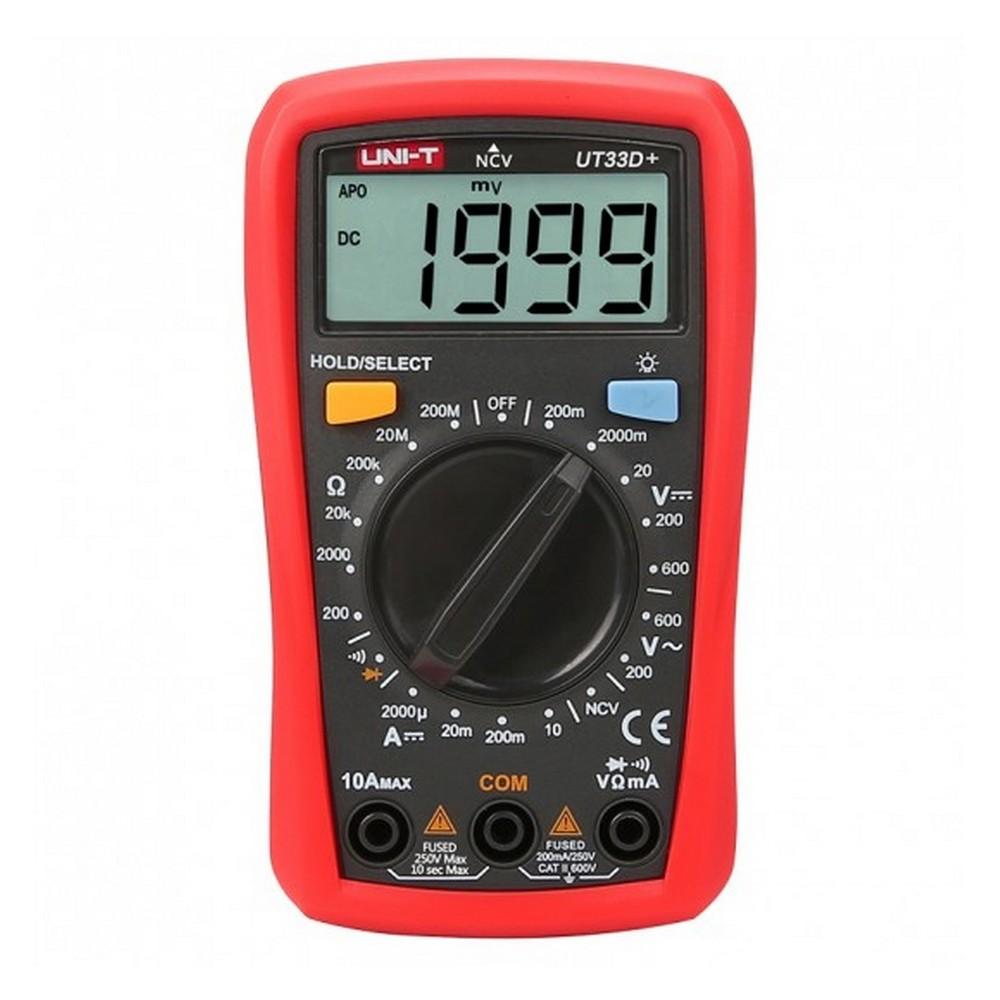 Uni-t UT 33D Dijital Multimetre ölçü aleti UT33D