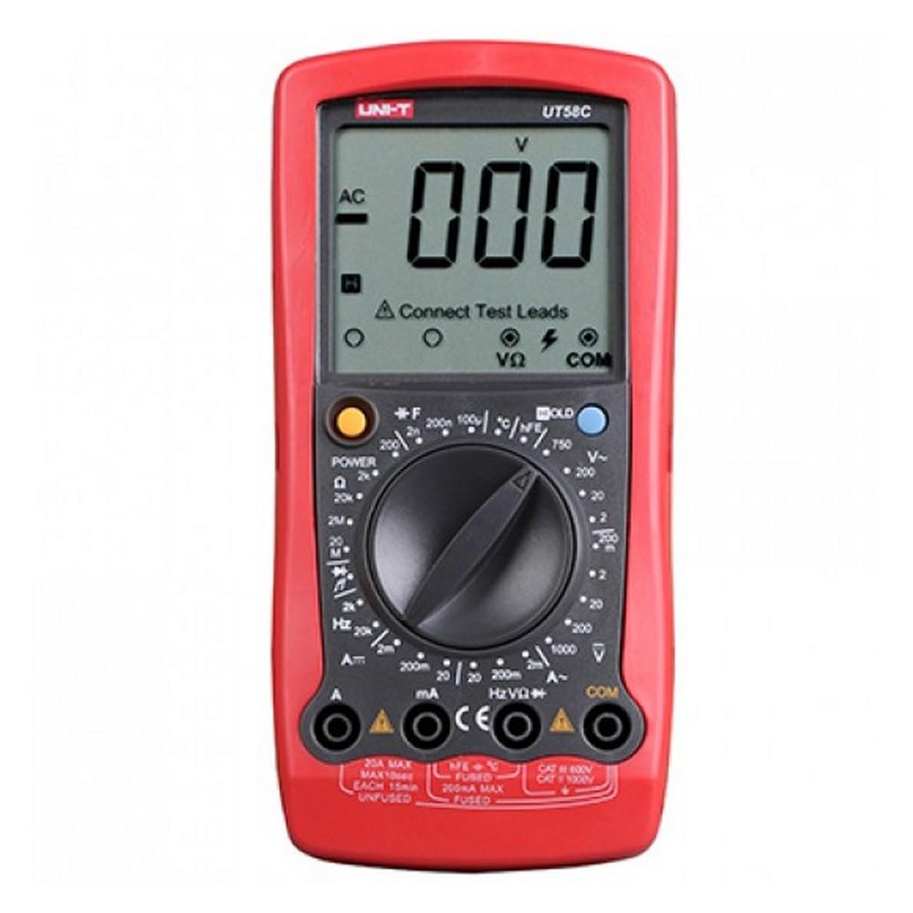 Uni-t UT58C Uni-t multimetre ölçü aleti