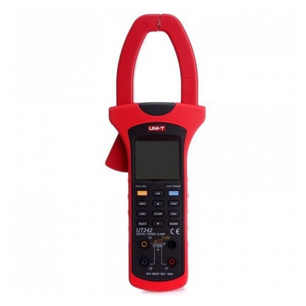 Uni-t UT 242 AC 1000A True RMS Güç-Harmonik Pensampermetre