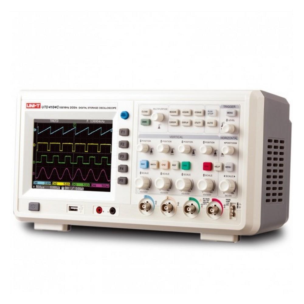 Uni-t UTD 4104C 4 Kanal 100Mhz Dijital Hafızalı Osiloskop
