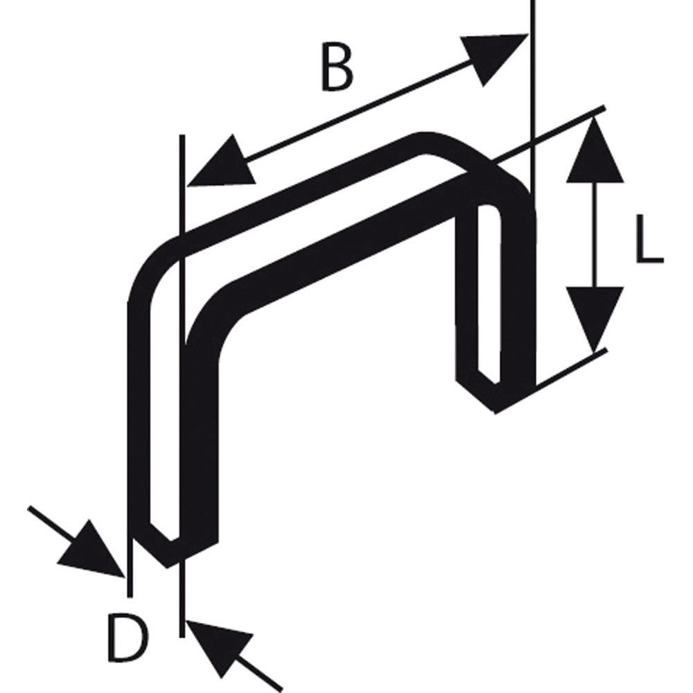 Bosch Zımba Teli Tip 53 114*074*10 mm