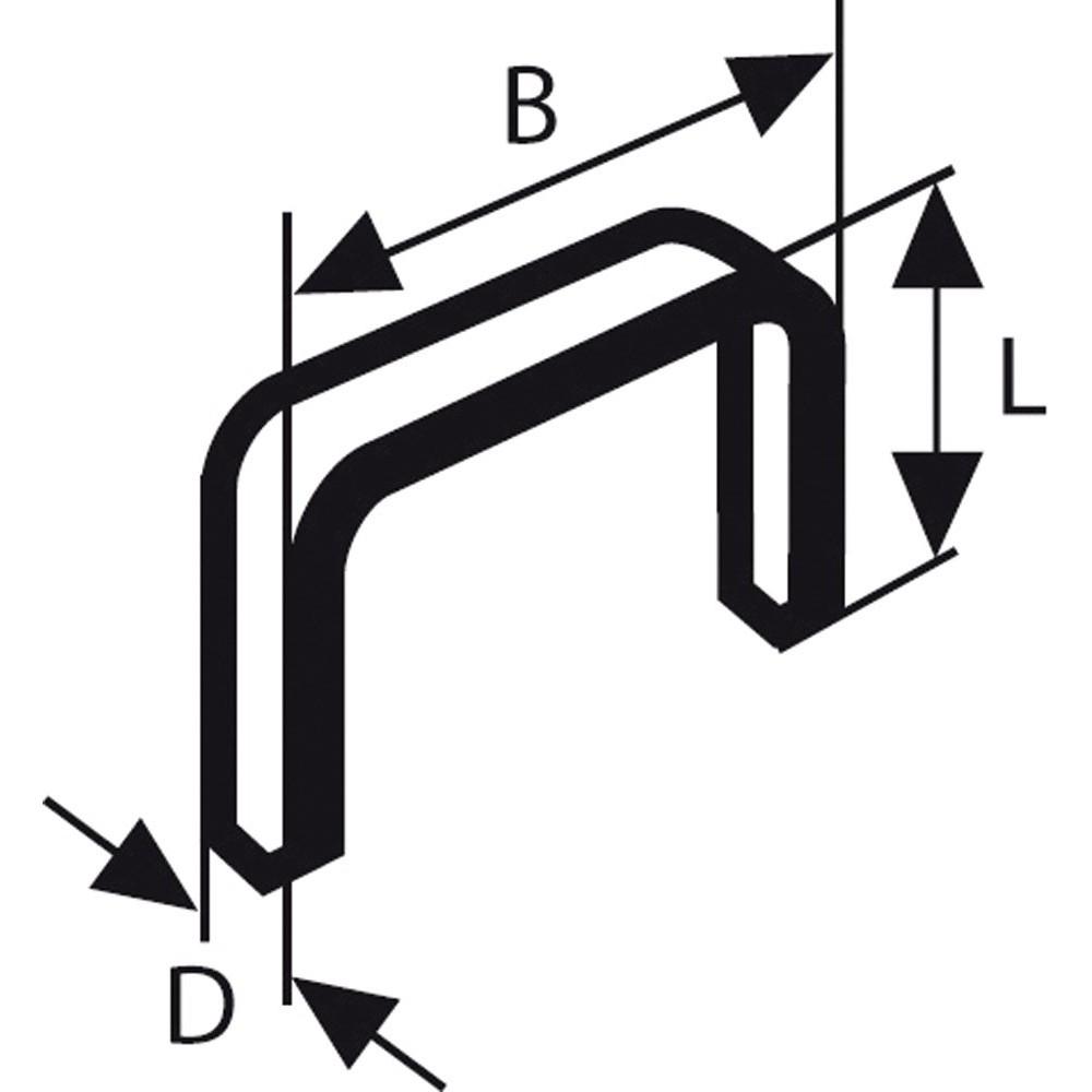 Bosch Zımba Teli Tip 53 114*074*12 mm