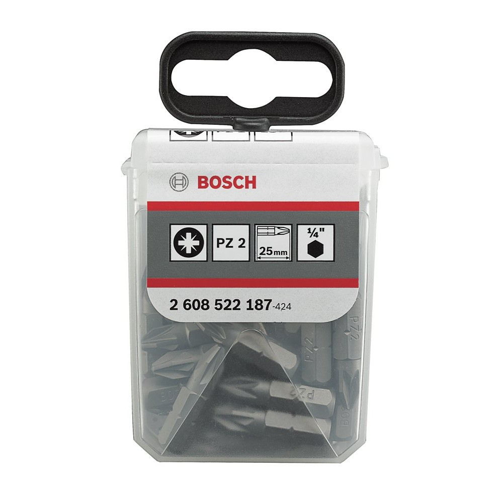 Bosch PH2*25 mm 25'li TicTac Kutu
