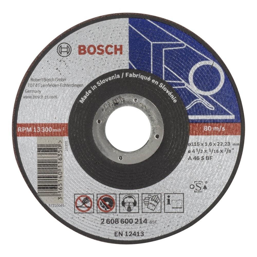 Bosch 2608600214 115x16 mm Expert for Metal Düz