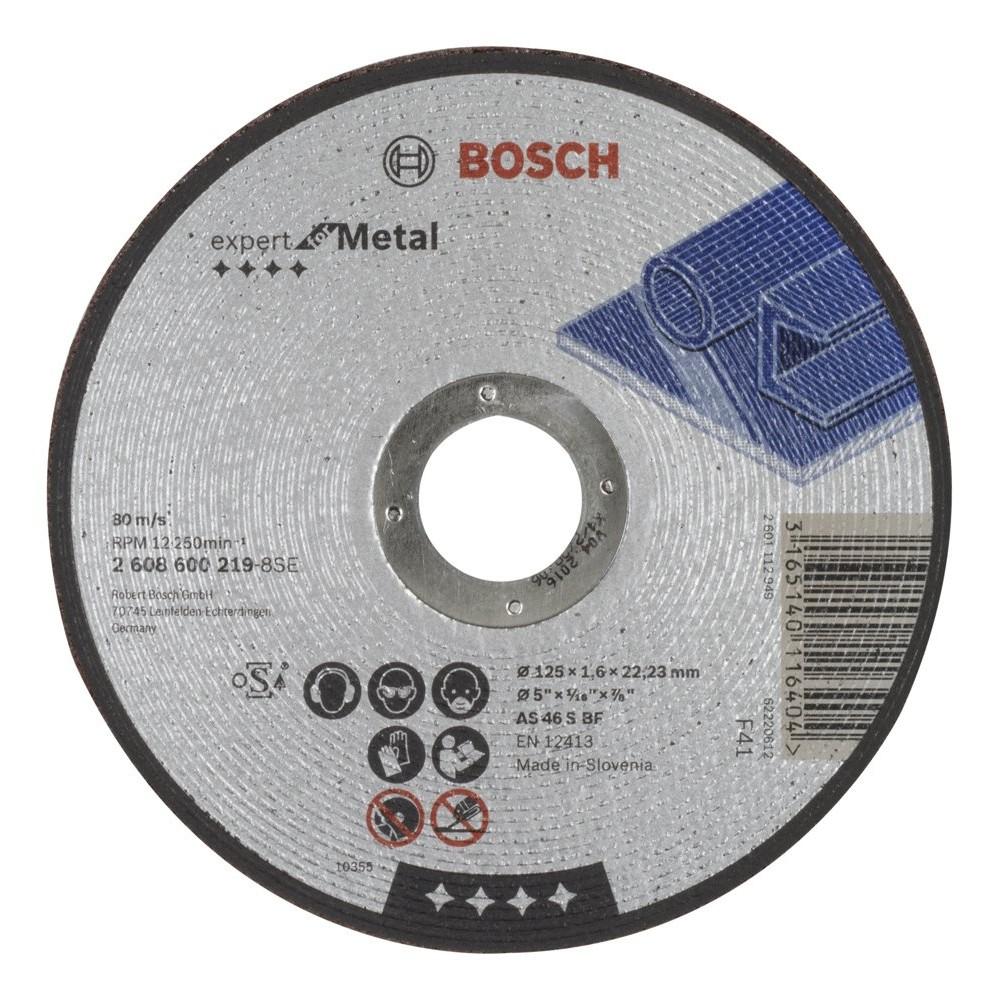 Bosch 2608600219 125x16 mm Expert for Metal Düz