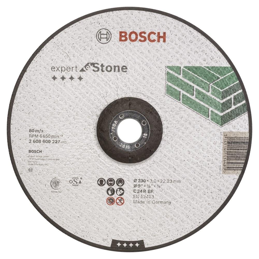 Bosch 230*30 mm Expert for Stone Bombeli
