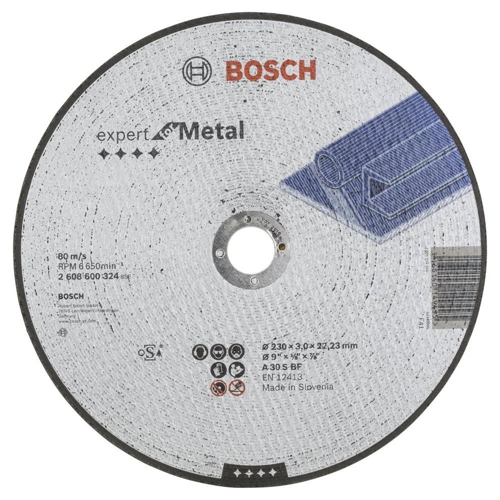 Bosch 230*30 mm Expert for Metal Düz
