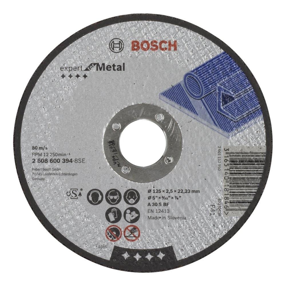 Bosch 2608600394 125x25 mm Expert for Metal Düz