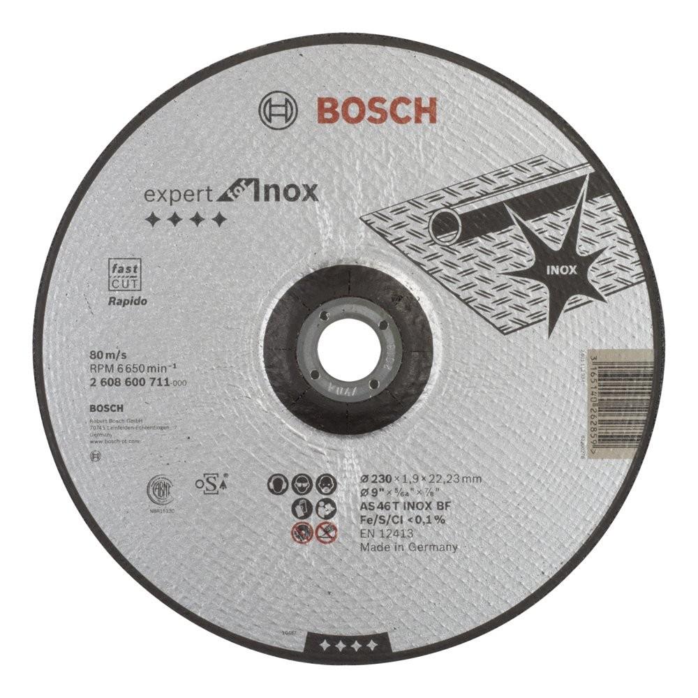 Bosch 230*19mm Expert for Inox Rapido Bombeli