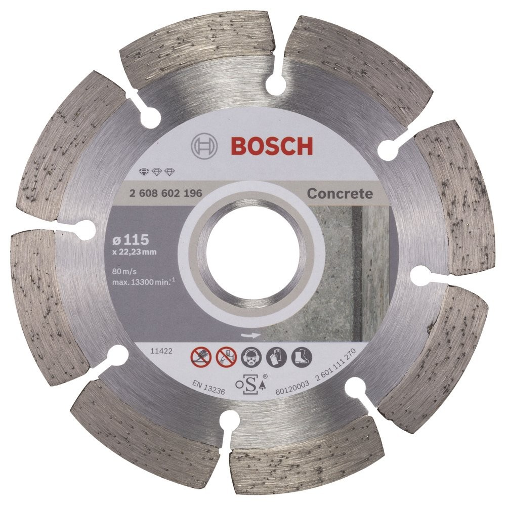 Bosch Standard for Concrete 115 mm