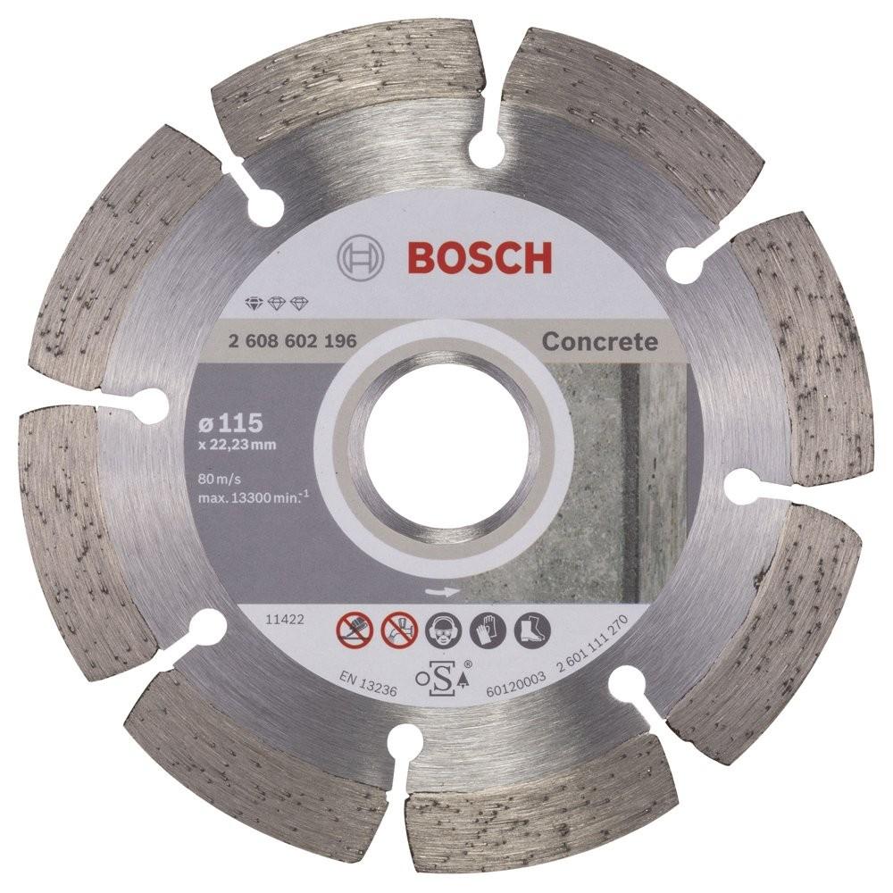 Bosch Standard for Concrete 115 mm