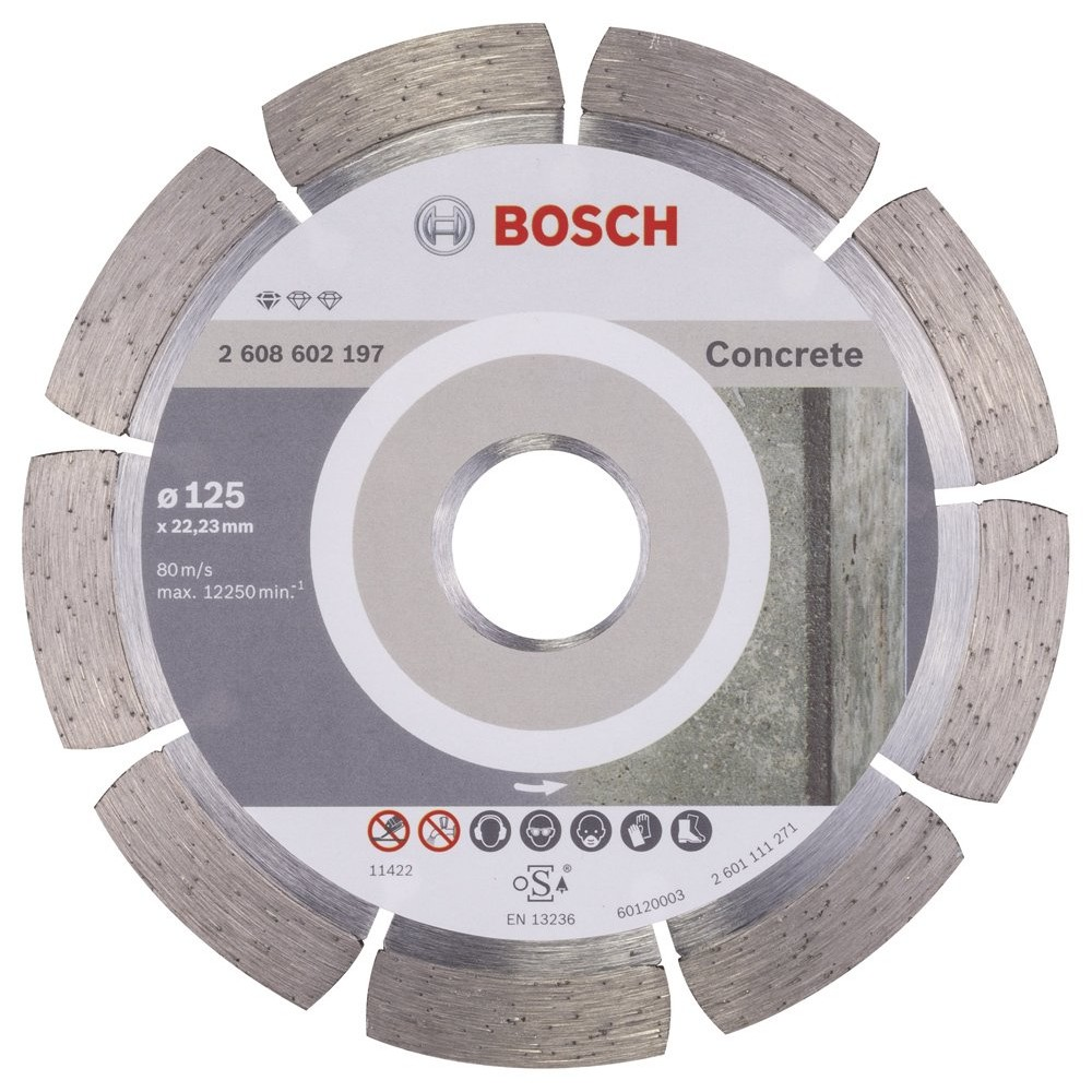 Bosch Standard for Concrete 125 mm