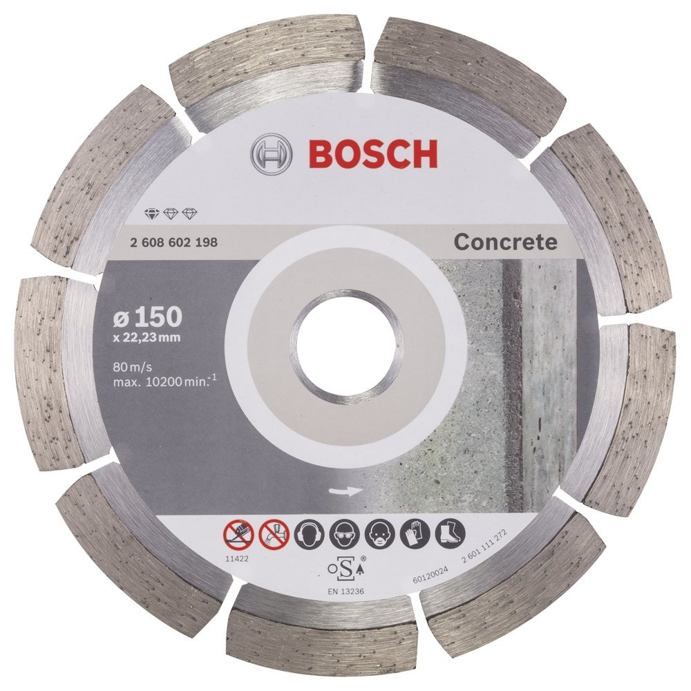 Bosch Standard for Concrete 150 mm
