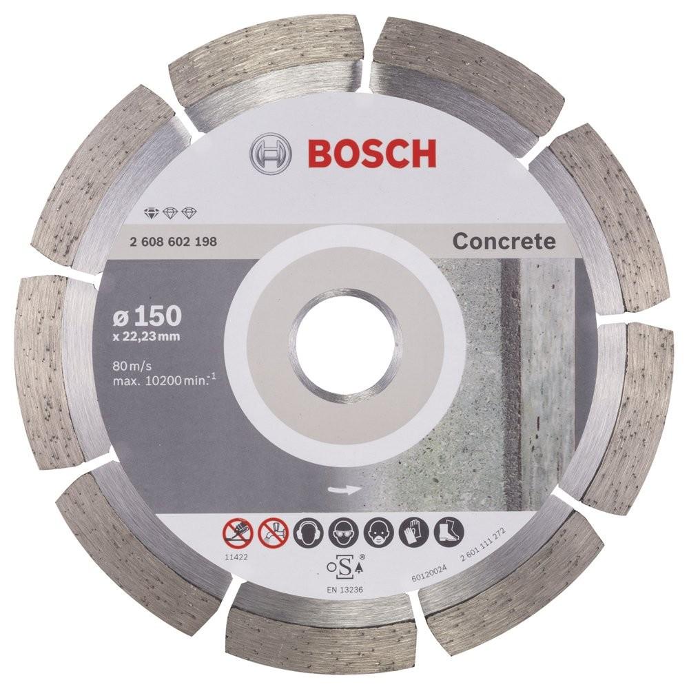 Bosch Standard for Concrete 150 mm