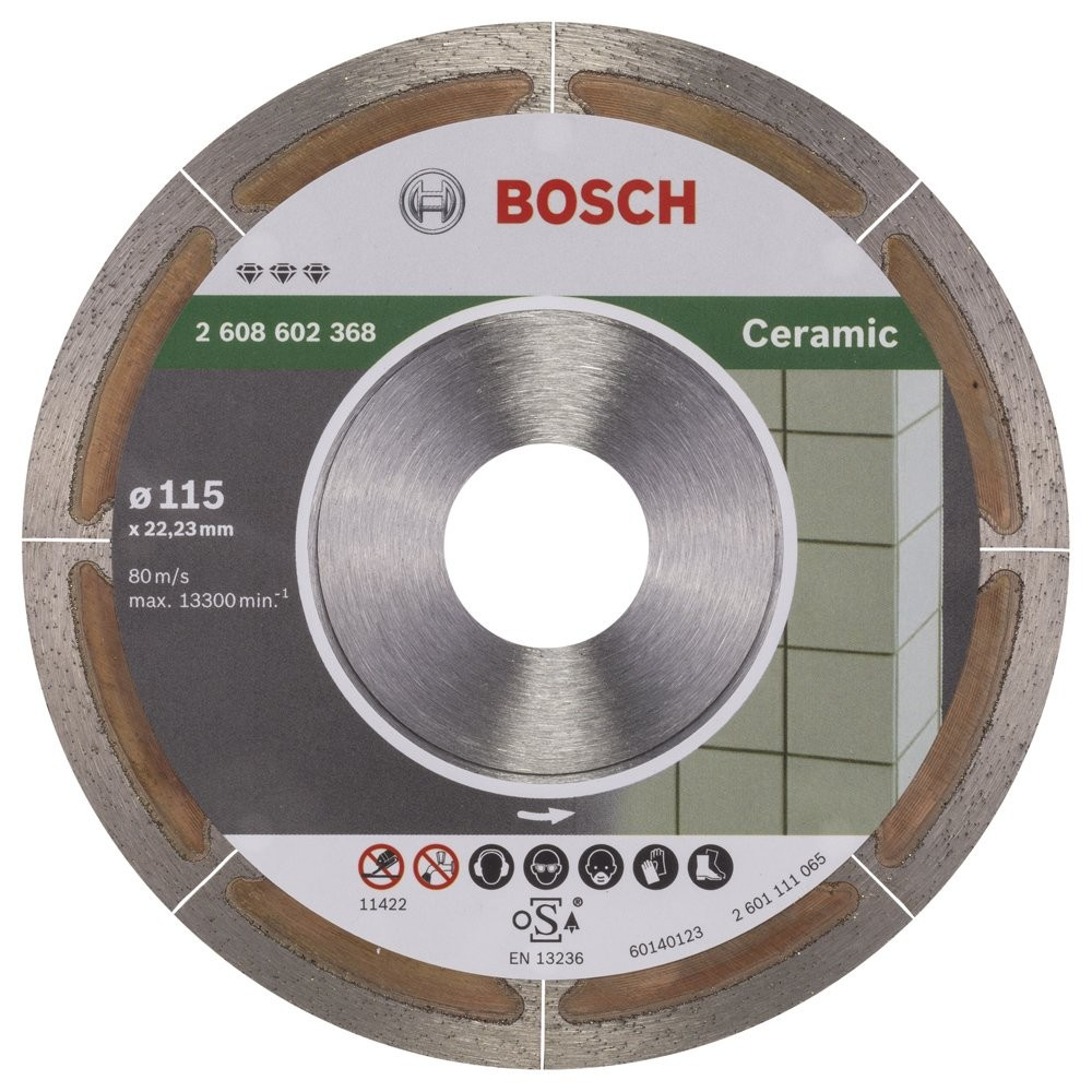Bosch Best for Ceramic Extraclean 115 mm