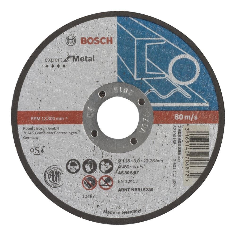 Bosch 2608603395 115x30 mm Expert for Metal Düz