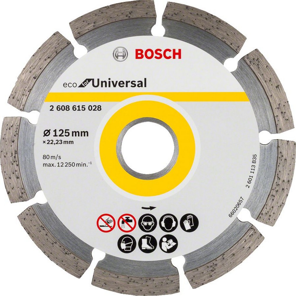 Bosch 9+1 Eco for Universal 125 mm