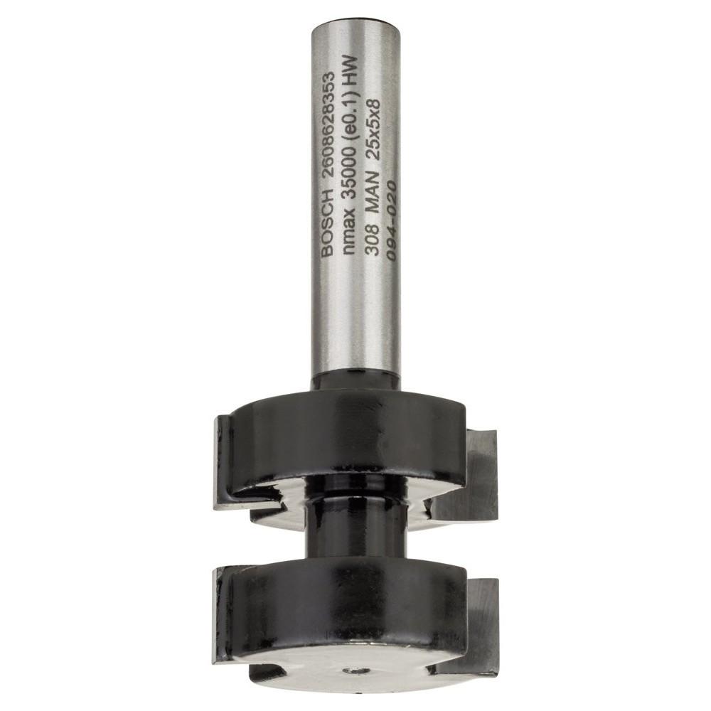 Bosch 2608628353 Standard W Birleşim Frezesi 8x25x58 mm