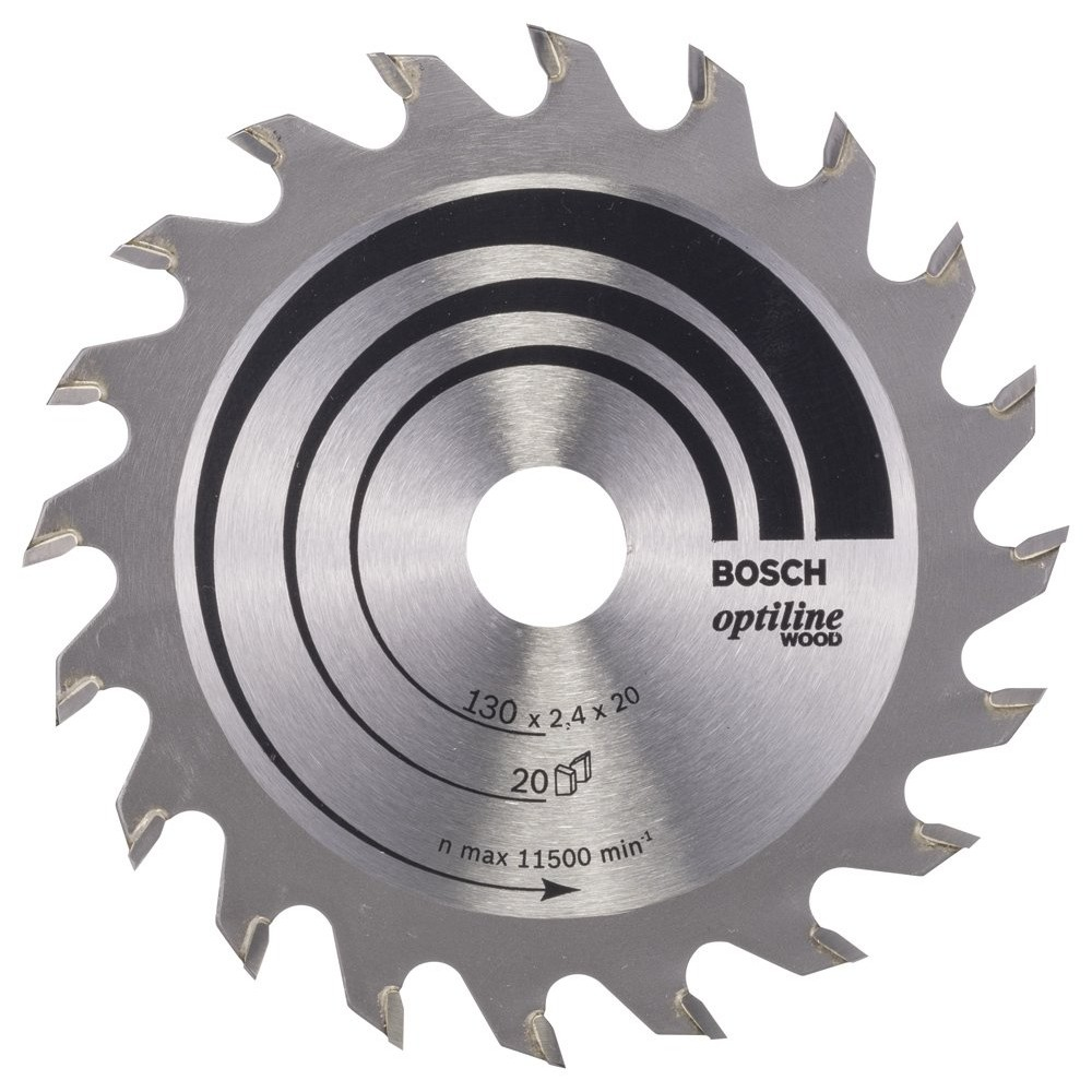 Bosch Optiline Wood 130*20/16 mm 20 Diş