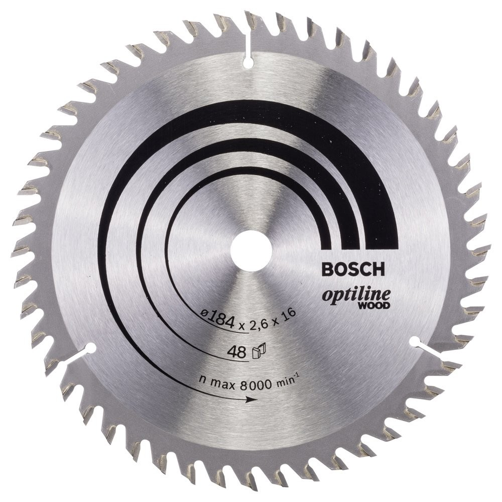 Bosch Optiline Wood 184*16 mm 48 Diş
