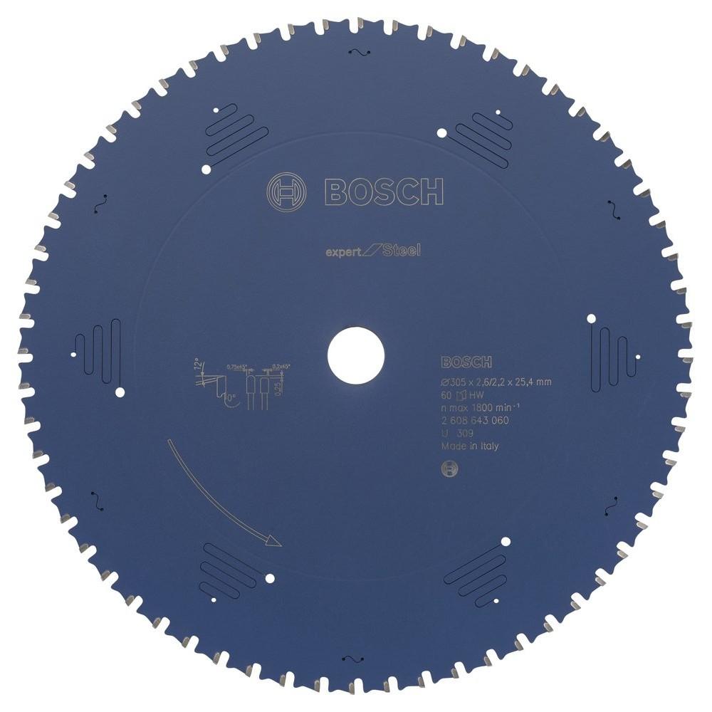 Bosch 2608643060 Expert for Steel 305*2540 mm 60 Diş