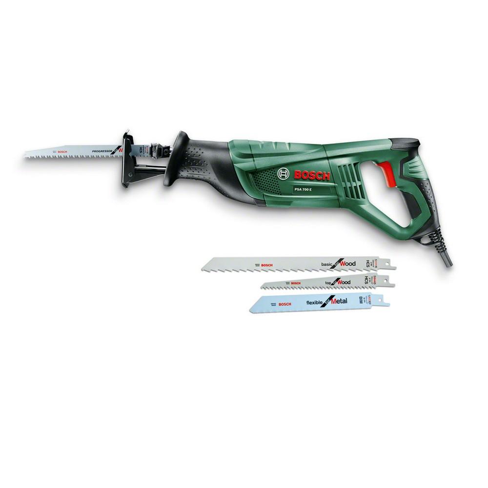 Bosch PSA 700 E Panter Testere 3 Bıçak Set