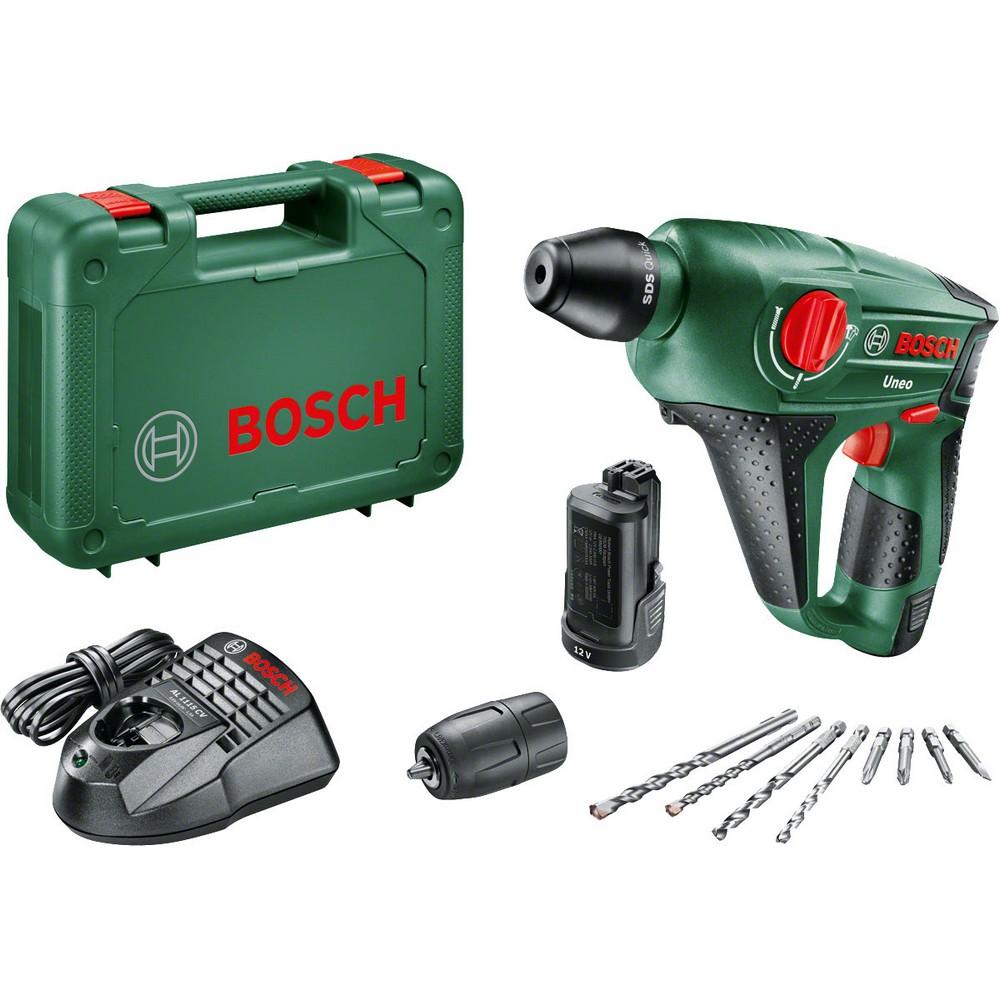 Bosch UNEO 12 LI 25 AH Kırıc Delici (Çift Akü)