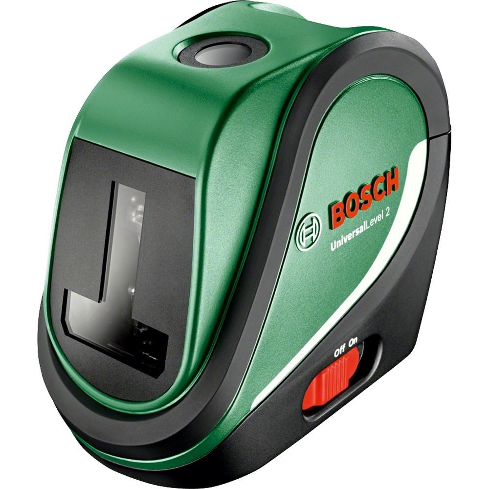 Bosch UniversalLevel 2 SET Çapraz Çizgili Hizalama Lazeri (0 603 663 801)
