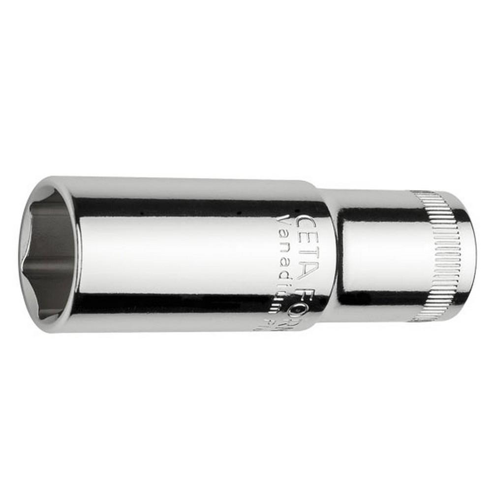 Ceta-Form 6 Köşe Derin Lokma Anahtar 3/8 inç 18 Mm