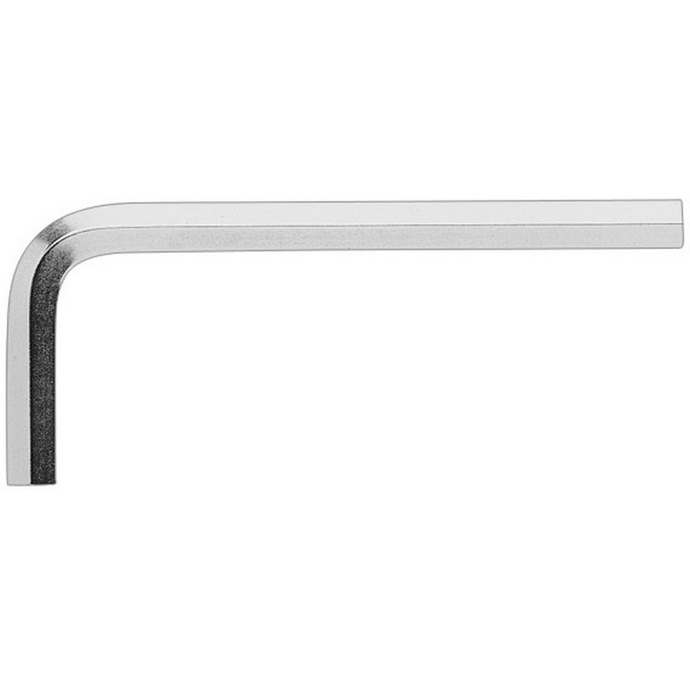 Ceta-Form L Allen Anahtar (Kısa Tip - Nikel Kaplı) - 2.5 mm