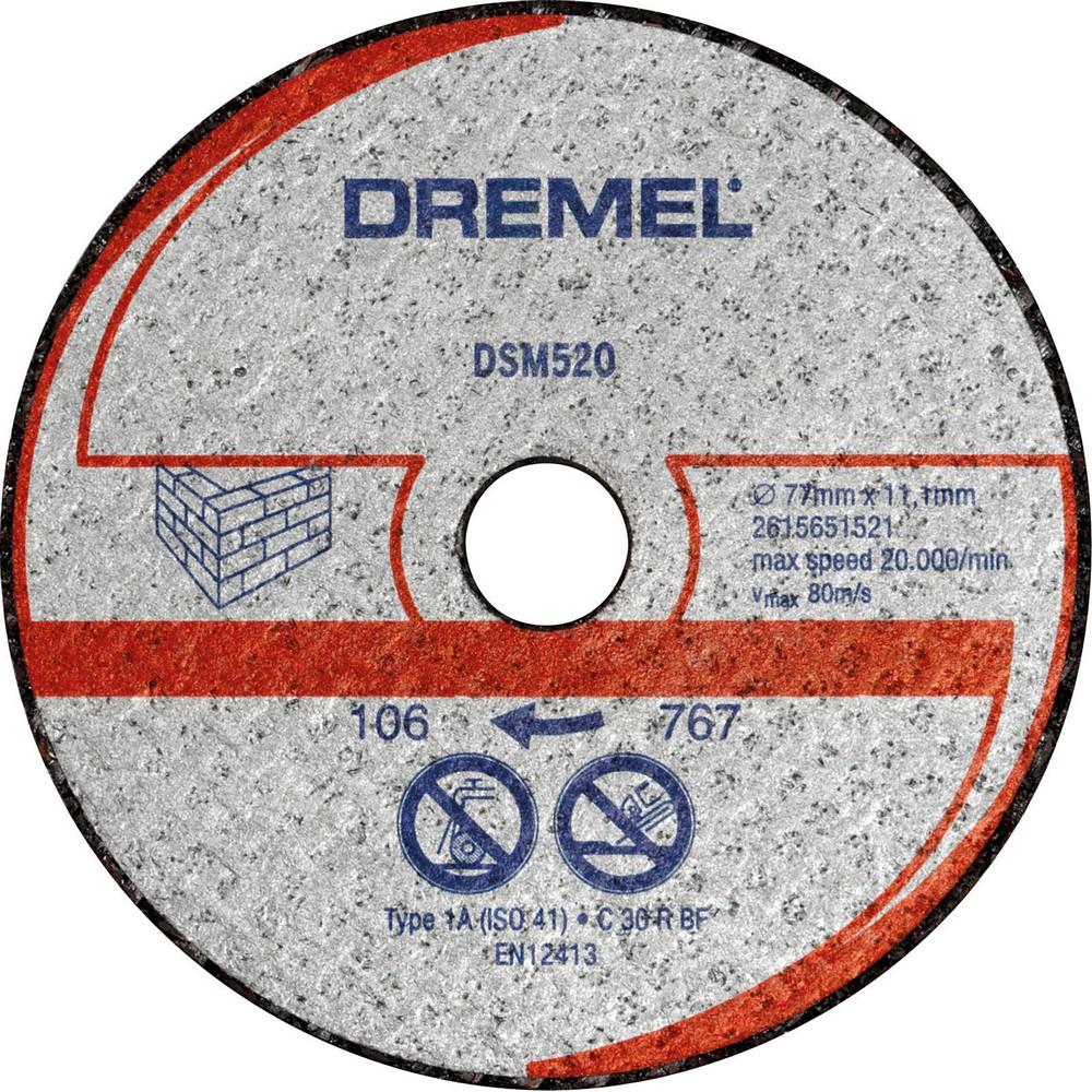 Dremel  DSM20 duvar kesme diski (DSM520)