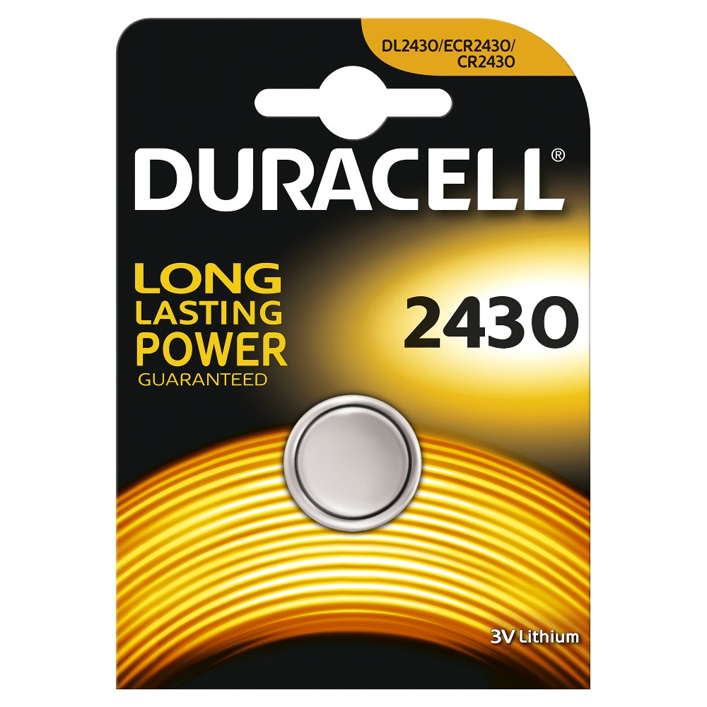 Duracell Düğme Lityum 2430 Piller  1PK