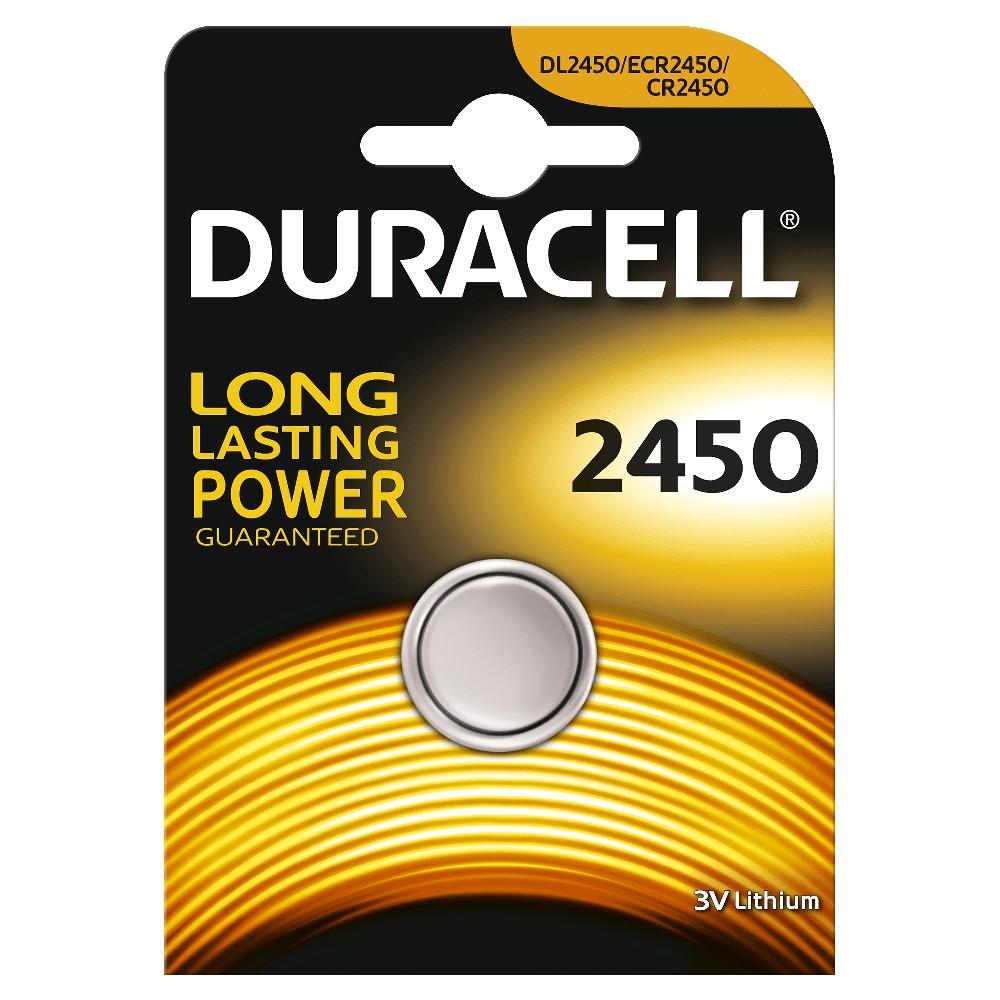 Duracell Düğme Lityum 2450 Piller  1PK