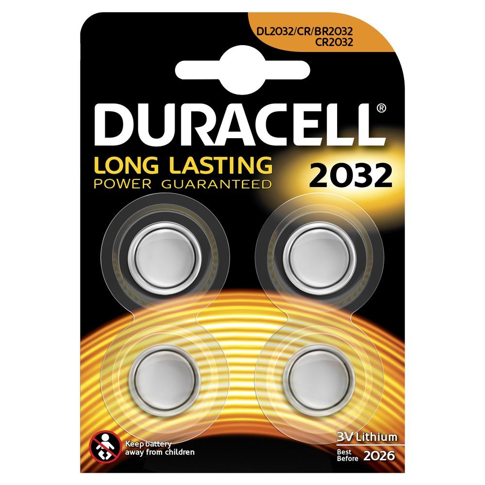 Duracell Düğme Lityum 2032 Piller  4PK