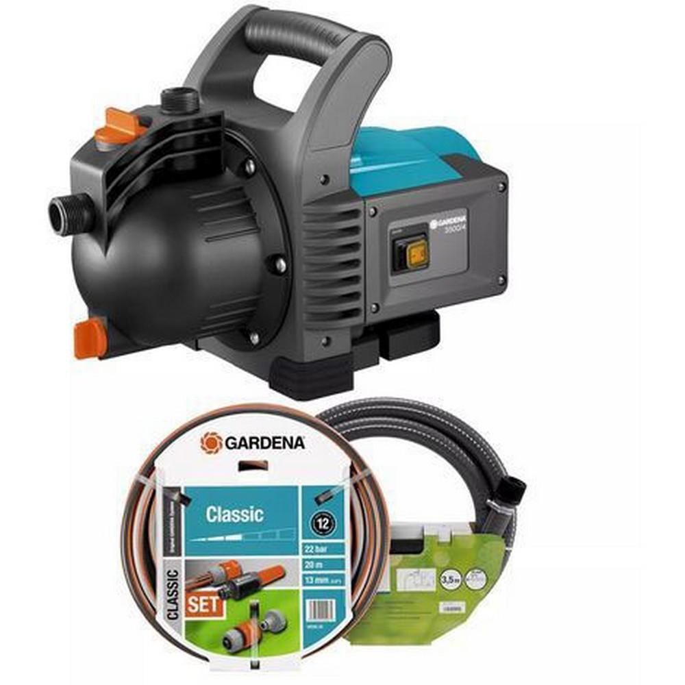 Gardena 1719 Classic Garden Pump Set 3500/4