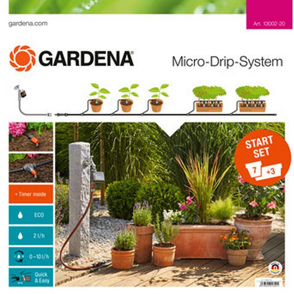 Gardena 13002- Başlangıç Seti Çiçek Saksıları  M Otomatik