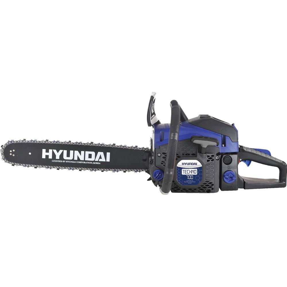 Hyundai Techno 700 Dijital Motorlu Testere 46 cm Kılavuz