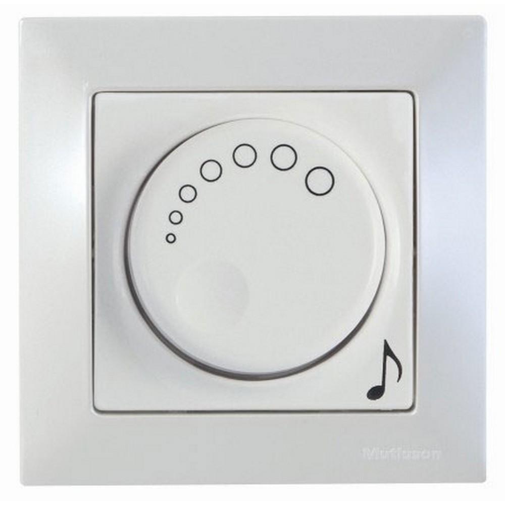 Mutlusan Candela Müzik Yayın Anahtarı Sedefli Beyaz