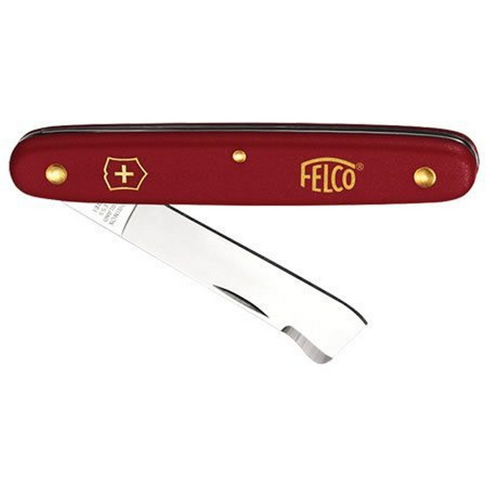 Felco 3.90 20 Gül Aşı Çakısı 57mm Kırmızı