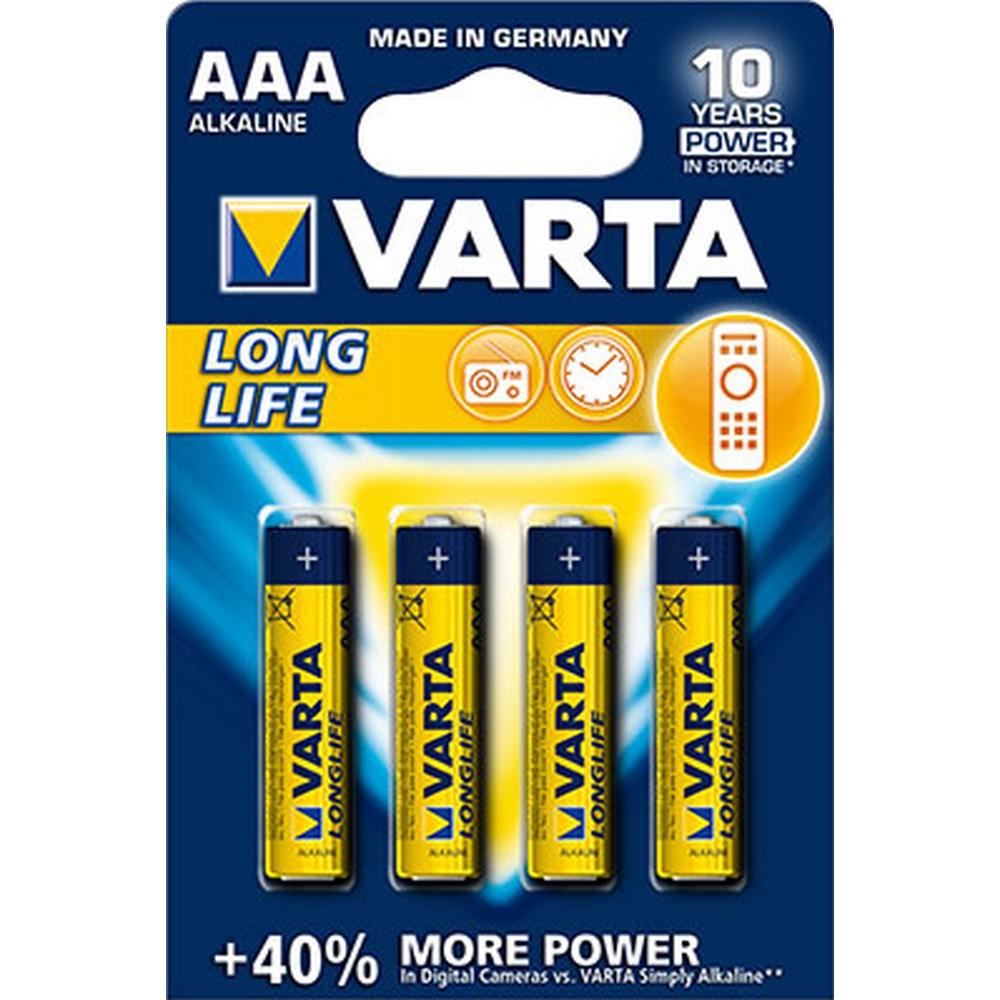 Varta 4103-4 LONGLIFE AAA X 4 Alkalin