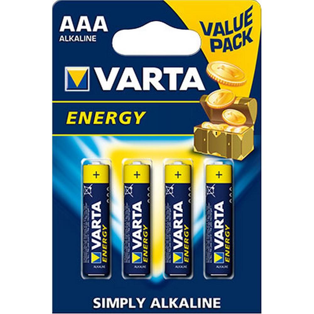 Varta 4103-E ENERGY AAA X 4 Alkalin
