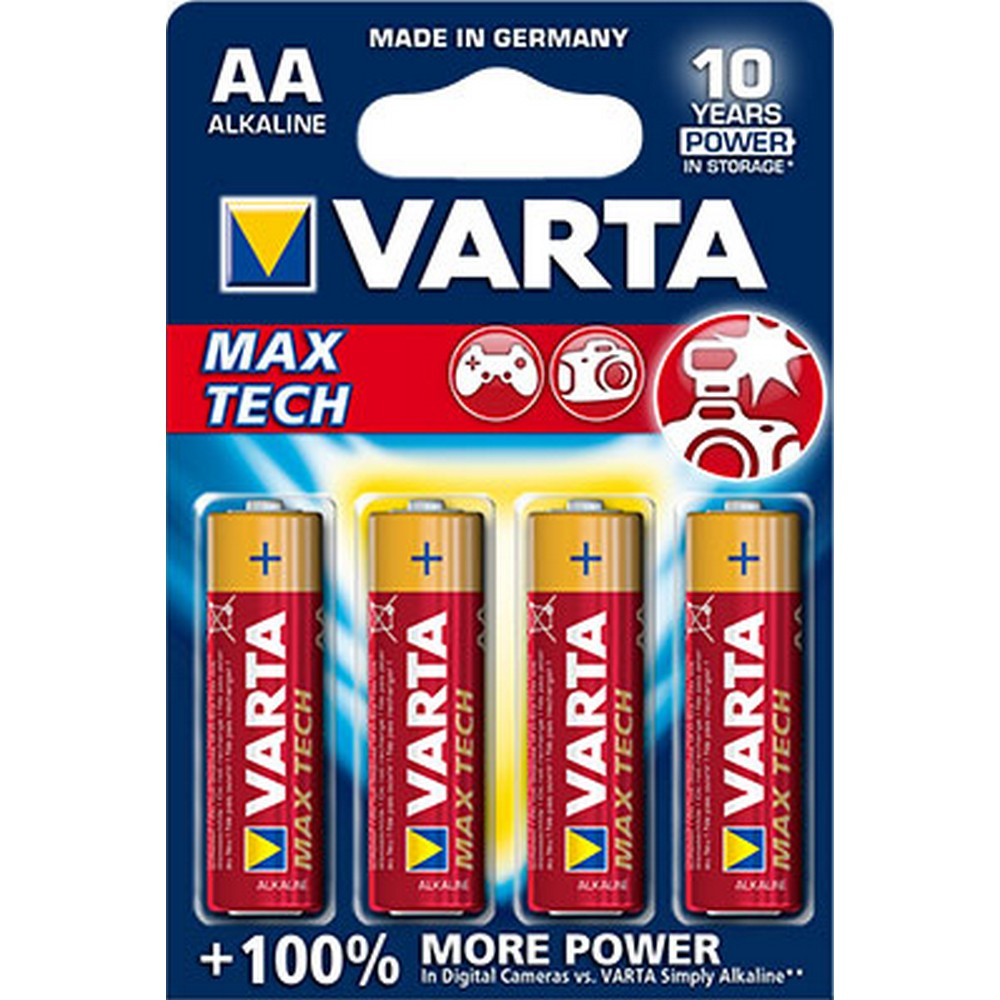 Varta 4706-4 MAX TECH AA X 4 Alkalin