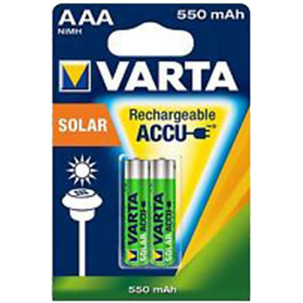 Varta 56733-2 Solar Light Şarj Edilebilir Pil 2 X AAA 550mAh