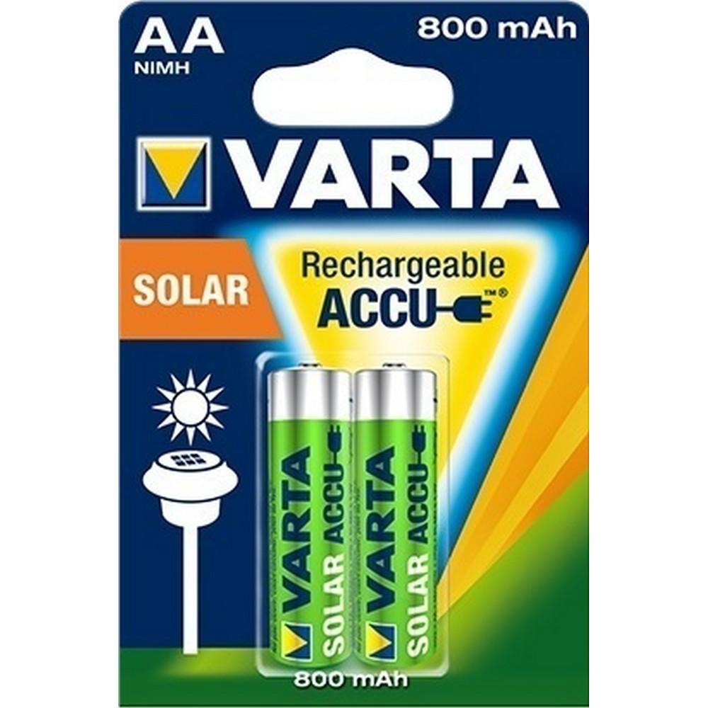 Varta 56736-2 Solar Light Accu 2 X AA 800mAh