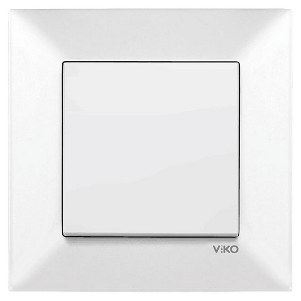 Viko Karre/Meridian Sıva Altı Anahtar - Beyaz (Çerçevesiz)